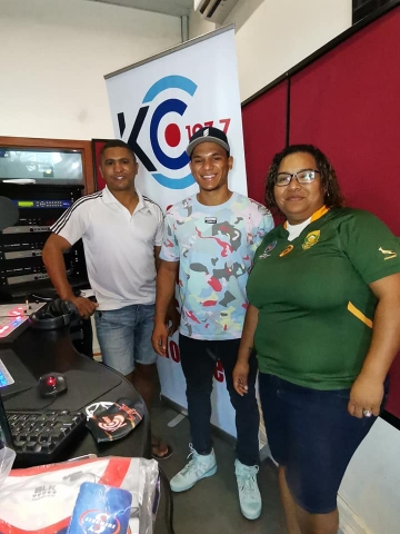 KC Sport with Charl Williams and Fiona Adams